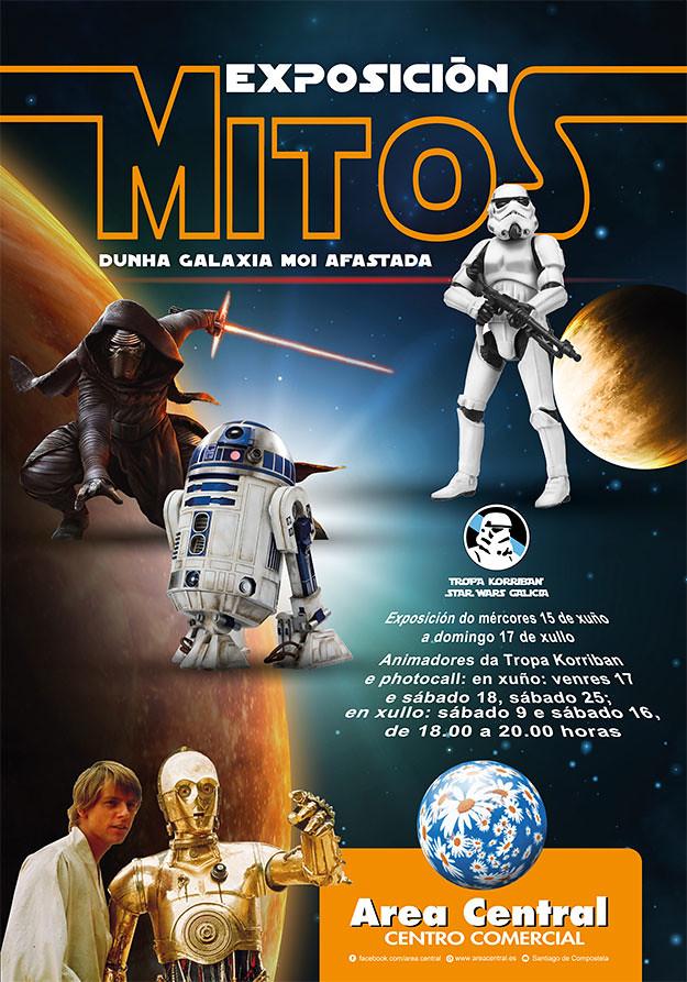 """Expo """"Mitos dunha galaxia moi afastada"""""""