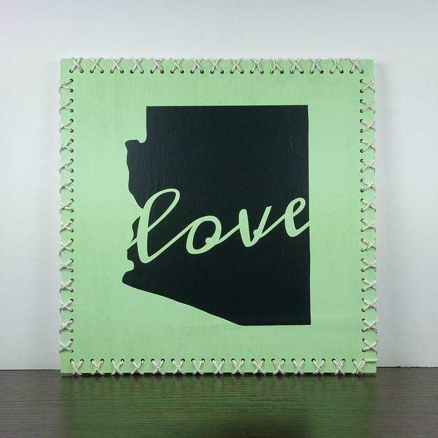 AZ Love String Art | shirley shirley bo birley Blog