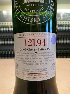 SMWS 121.94 - Dried-Cherry Lattice Pie