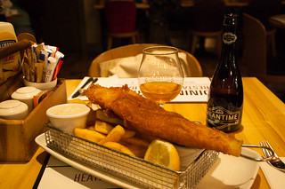 The last dinner in UK
