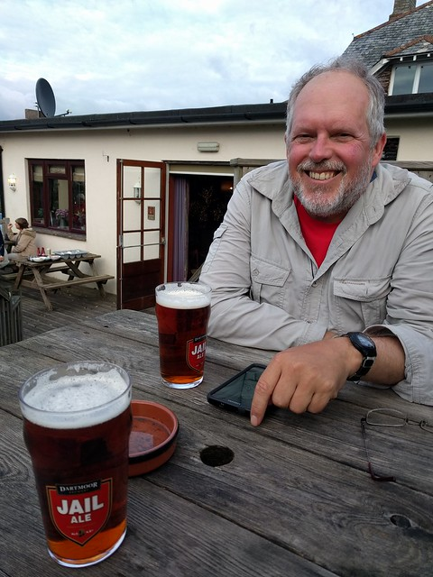 Official End of Walk Pint #sh #DevonCoast2Coast #ErmePlymTrail