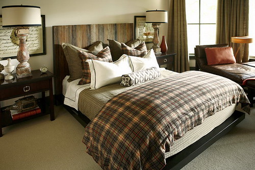 Masculine Bedroom Design Ideas With Bedding Sets Check