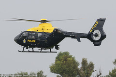 G-POLB - 2003 build Eurocopter EC135 T2+, at the time a temporary Barton resident as UKP151