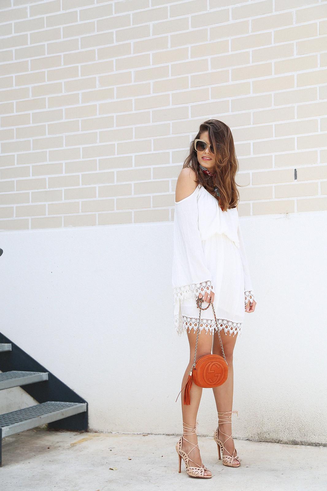 jessie chanes seams for a desire white off shoulders dress schutz sandals-8
