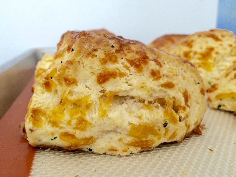 Buttermilk Cheddar Chive Biscuits