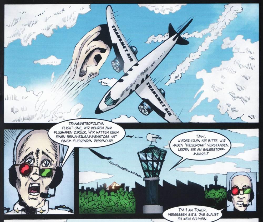Wer im Heft eine der vielen Comicanspielungen findet, darf sich freuen und sie behalten ;)