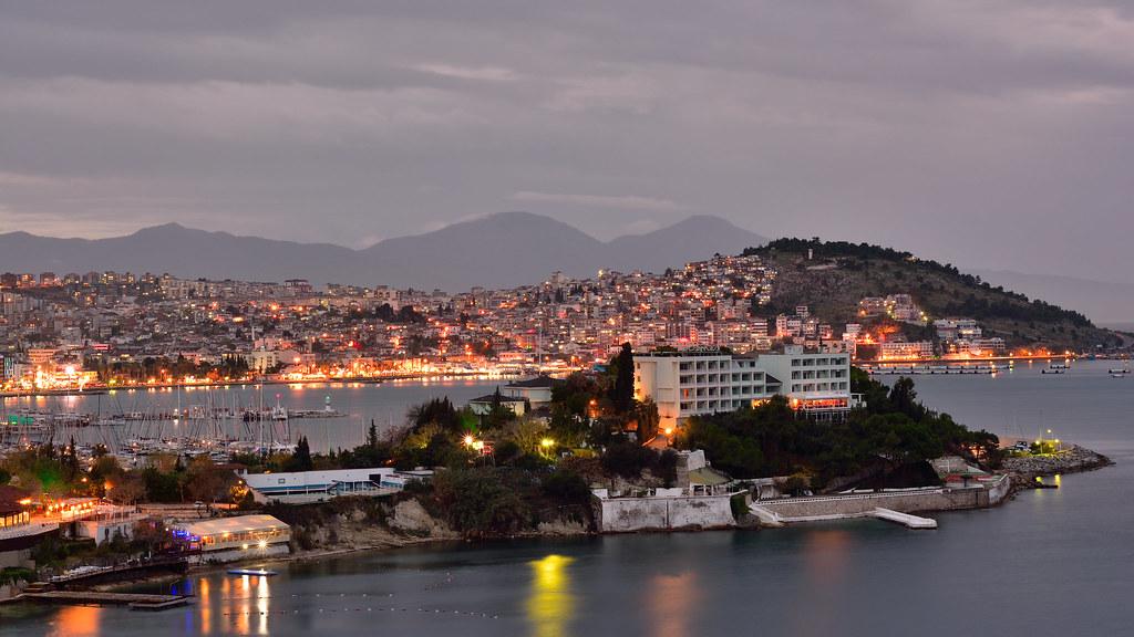 Kuşadası, Blick auf die Stadt