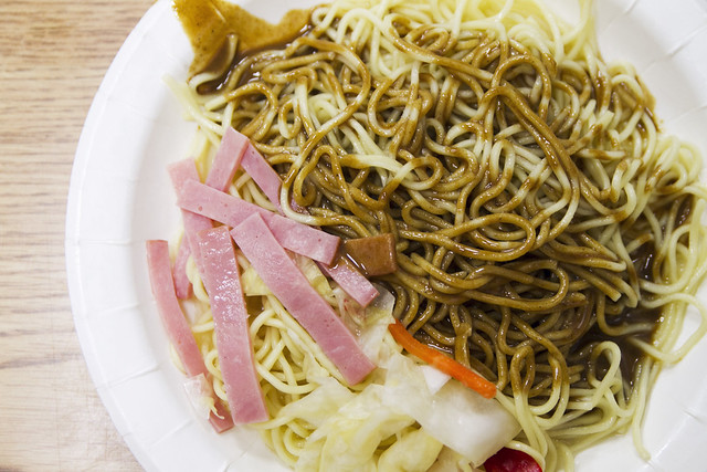 Cold peanut sauce noodles