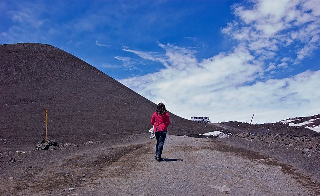 Exploring Mount Etna - amidst the volcanic ash
