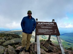 Dan Robbins on Mount Katahdin