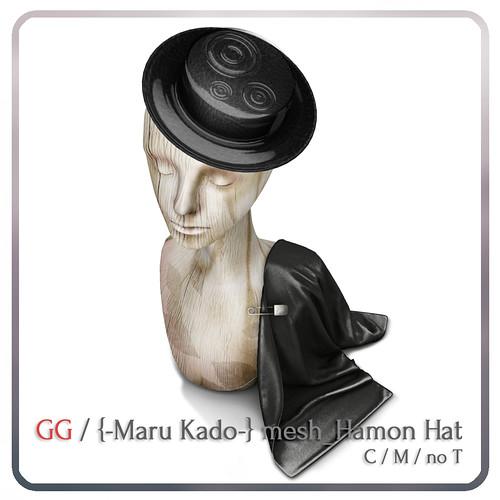 GG / {-Maru Kado-} Hamon Hat
