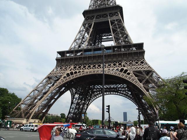 P5271753 エッフェル塔(La tour Eiffel) paris france パリ