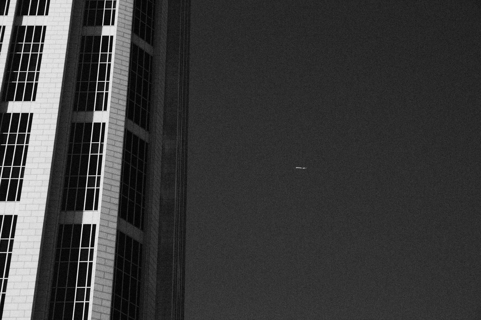 One Atlantic Center and Plane, Midtown Atlanta, 2007