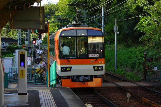 2016/08 叡山電車二軒茶屋駅 #05