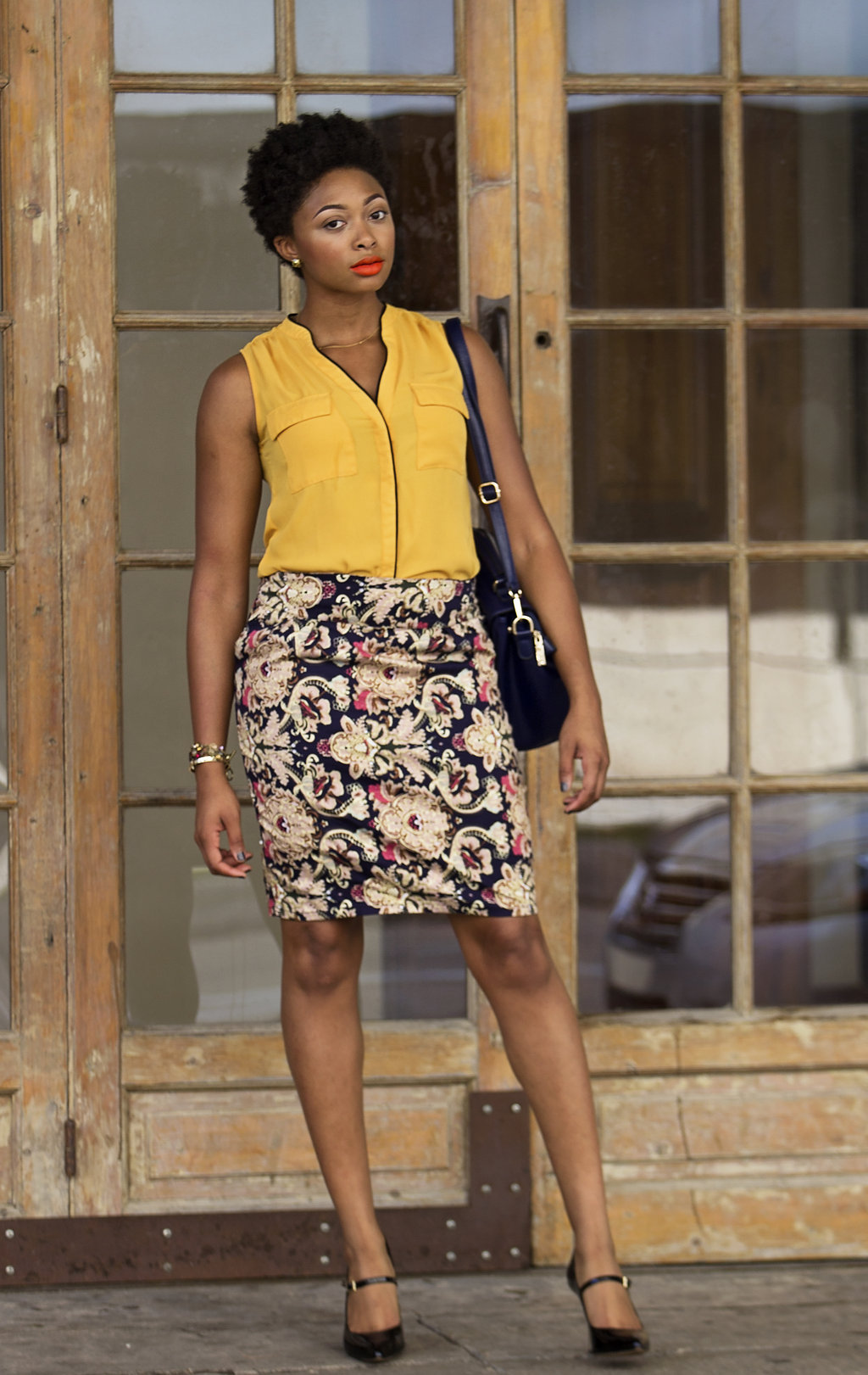 how to style a pencil skirt, candace hampton