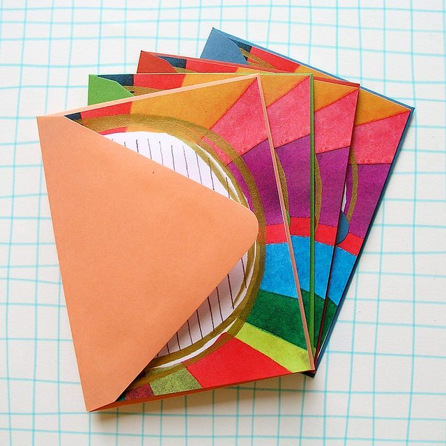 Day 20/100 These letter writing paper #stationery sets are FINALLY available in my etsy shop (link in my profile). They are made from my watercolor and penciled design, printed on an offset press AND THENNNNN each sheet is hand silk screened with the gold