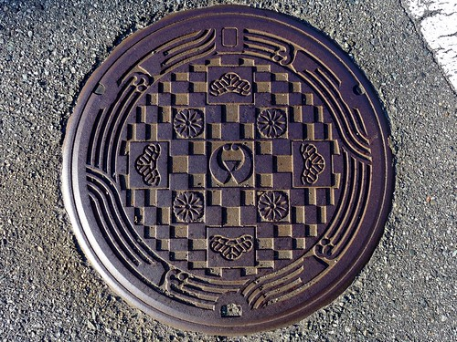 Iwami Shimane, manhole cover (島根県石見町のマンホール)