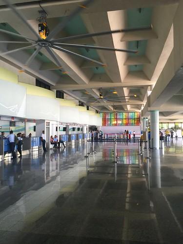 Departure gate @ Airport Puerto Plata