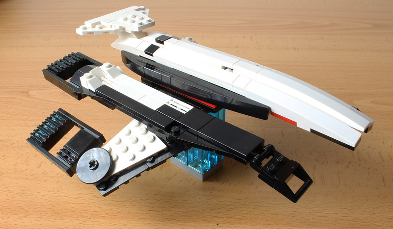 Moc Normandy Sr 1 With Instructions Lego Sci Fi Eurobricks Forums