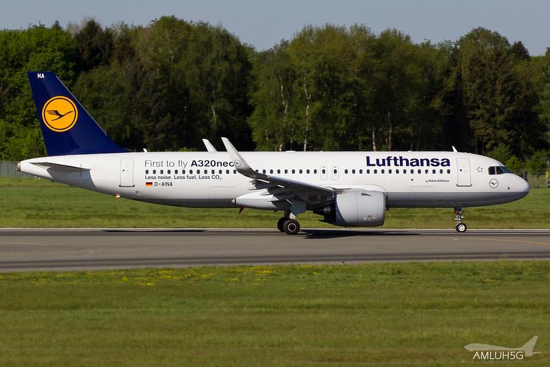 Lufthansa - A320 - D-AINA (1)