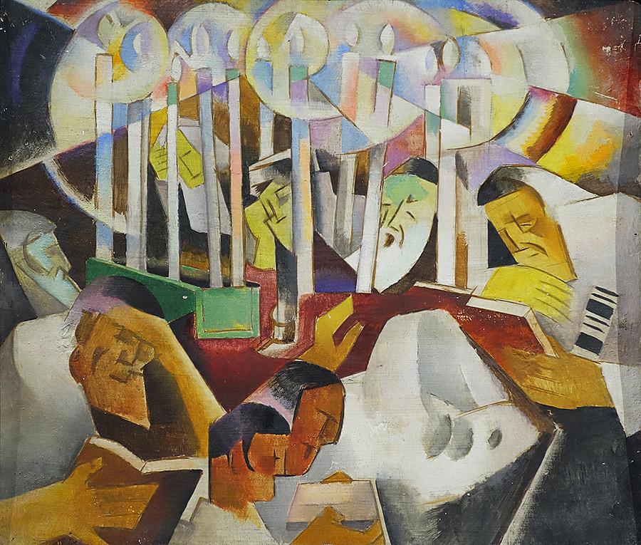 Russian avant-garde 87_Baranoff-Rossine