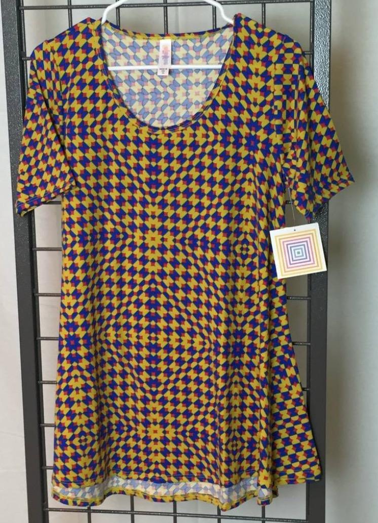 Psychedelic LulaRoe Seizure Shirt