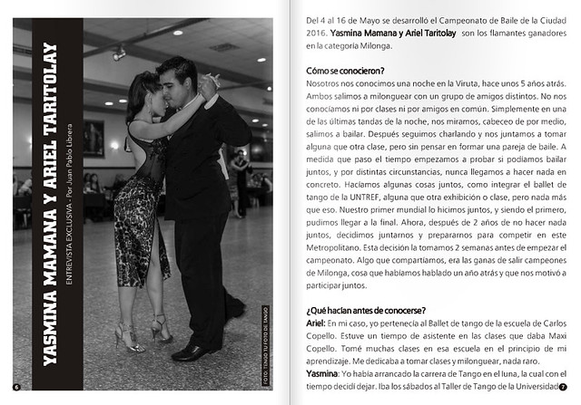 Revista PUNTO TANGO 116 Junio 2016 - 1