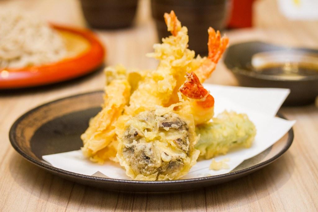 Suntec City Restaurants: Ichiban Boshi's Tempura Moriawase