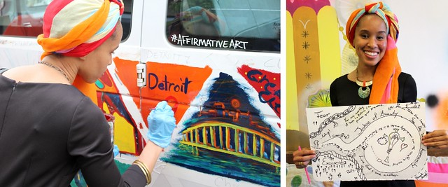 Affirmative Art tour stops in D.C., Ohio, and Michigan