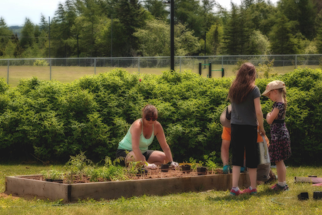 Helping Hands Community Garden planting day—June 26th