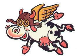 flying cow 1
