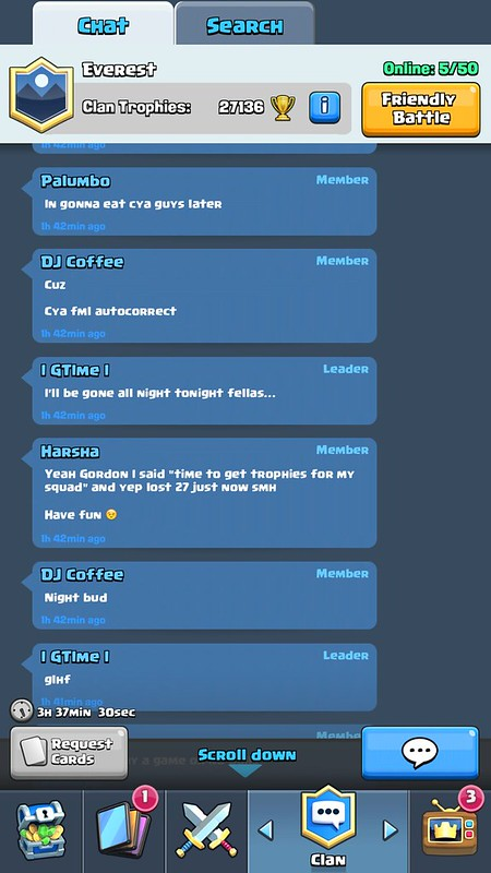 Why playing in Gordon Hayward's Clash Royale clan taught me