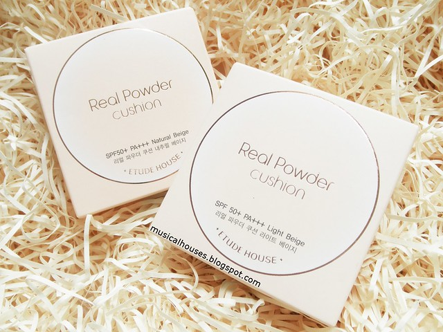 Etude House Real Powder Cushion Review SPF50