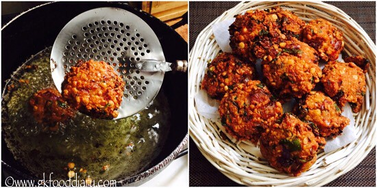 Masala Vada Recipe for Toddlers and Kids - step 6