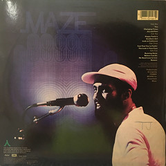 MAZE FEATURING FRANKIE BEVERLY:LIVE IN NEW ORLEANS(JACKET B)