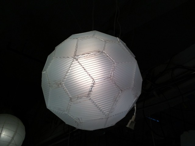 Catalan polyhedron lamp