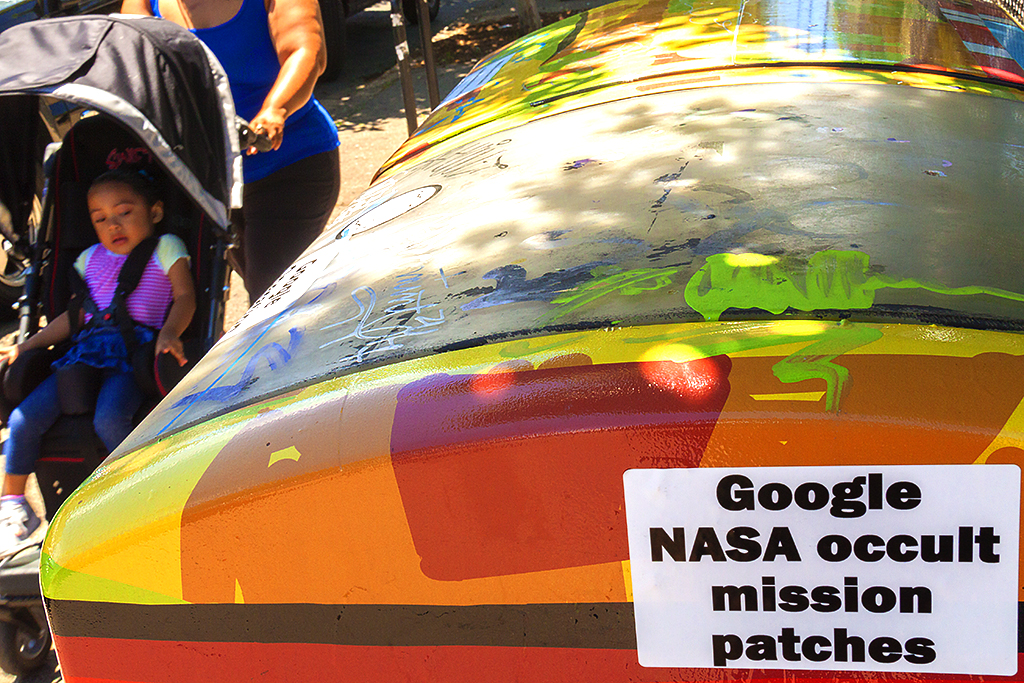 Google NASA occult mission patches--Passyunk Square