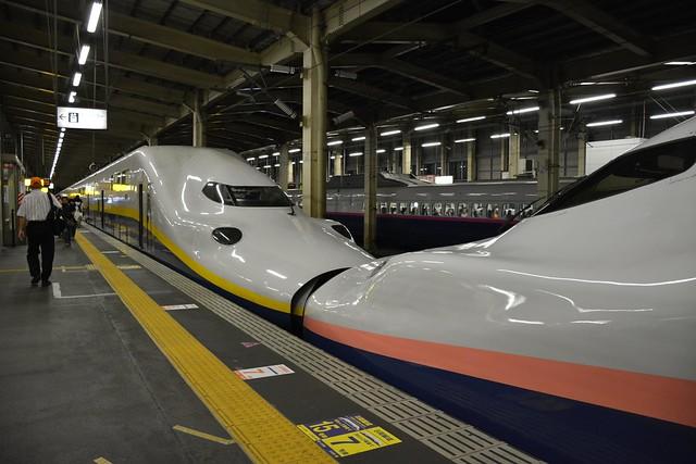 E4系新幹線:越後湯沢駅