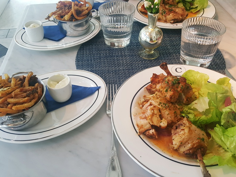 Colette Grand Cafe chicken