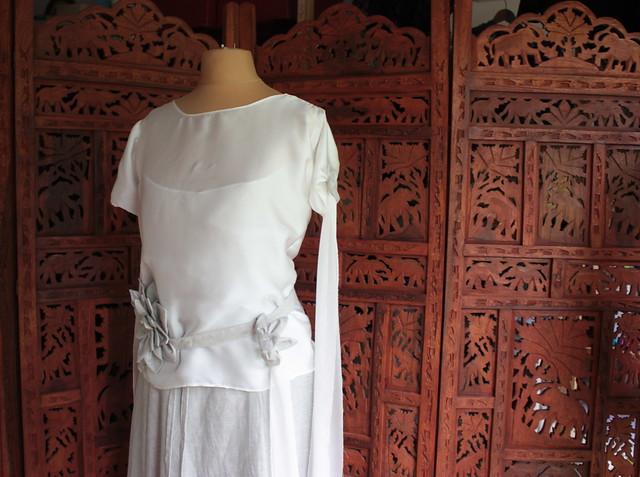 Top Eva, robe de mariée alternative