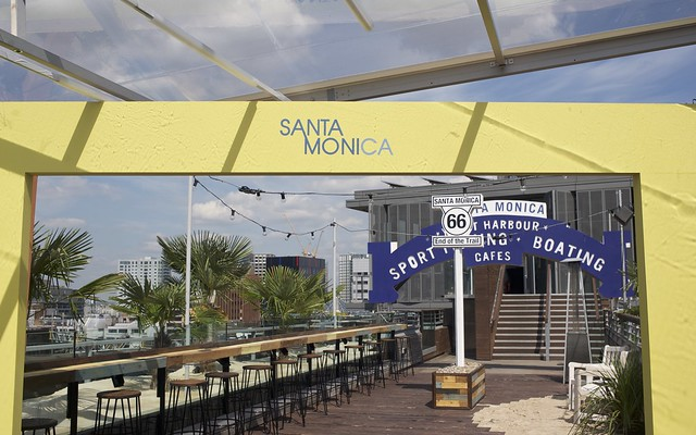 Rooftop Pop Up Santa Monica At Skylounge