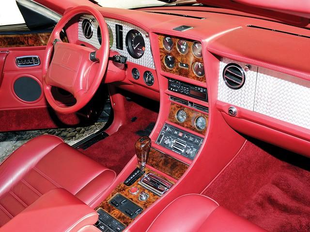 Салон Bentley Azure. 1995 – 2002 годы производства
