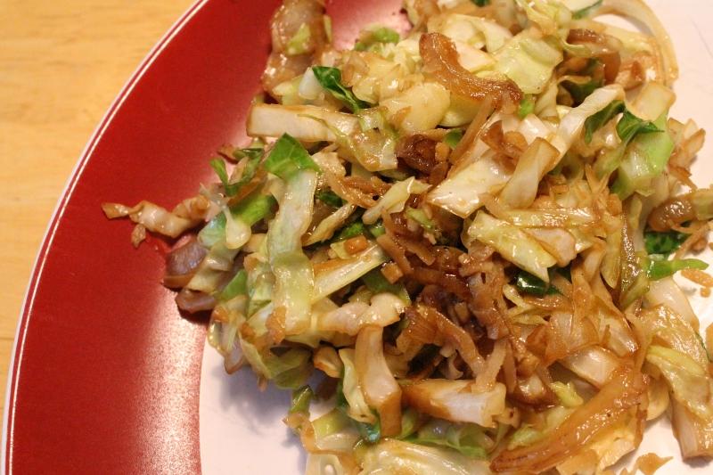 Coconut Cabbage, 1 (99 calories)