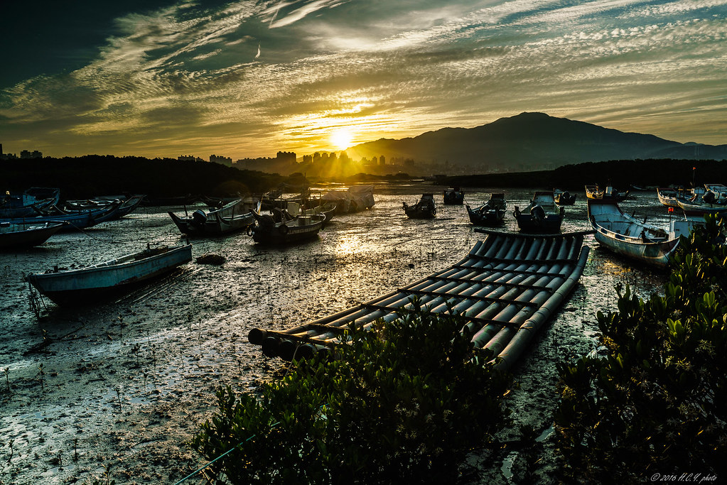 Sunrise @ 挖仔尾漁港