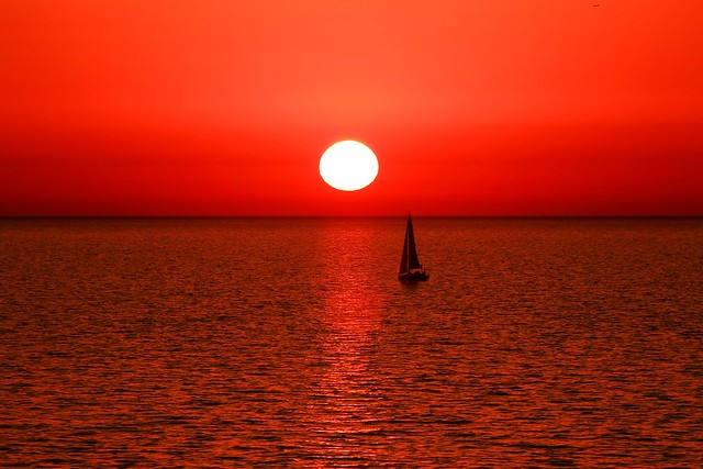 Sailing in a Red-World