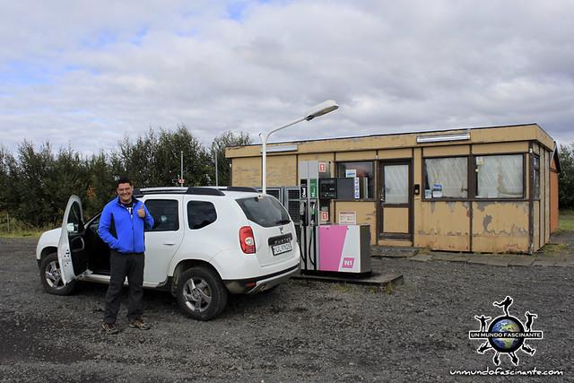 ISLANDIA - Gasolinera abandonada (Iceland, ísland)