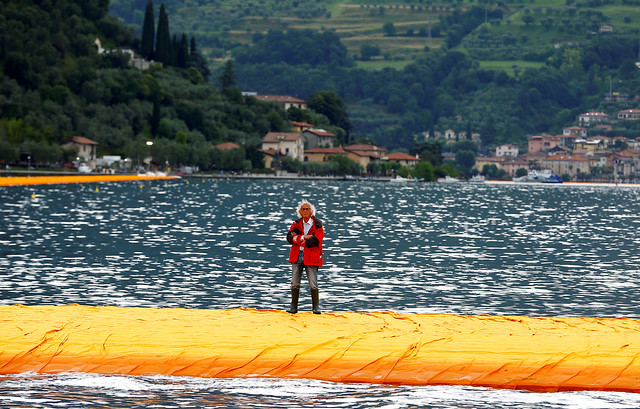 Walking on water: Bulgarian artist Christo realises his dream