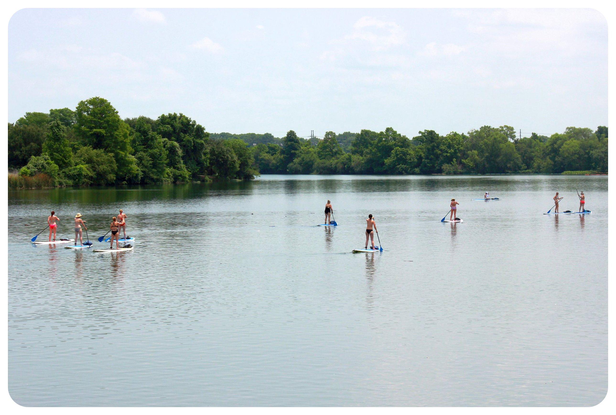 austin stand up paddling