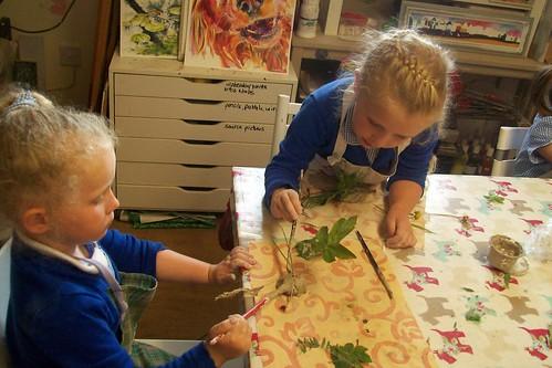 Creative clay animals at Aston Springs Farm