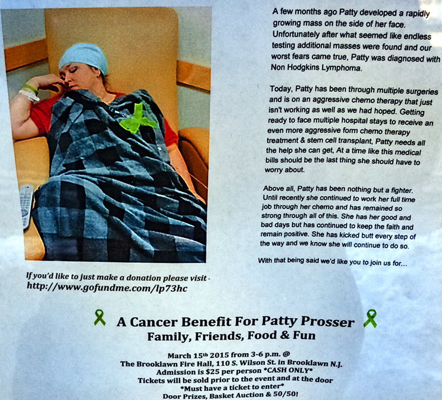 Fundraising-flyer-for-cancer-patient-Patty-Prosser--Collingswood-(detail)